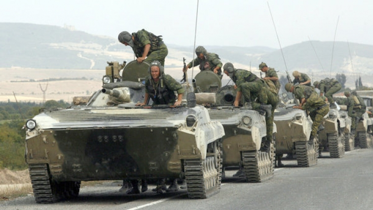 Russische Panzer. (Foto)