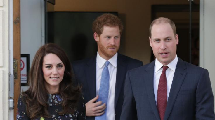 Kate Middleton, Prinz William und Prinz Harry in den Royal-News der Woche.