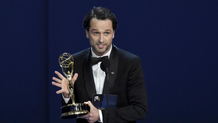 Glücklicher Gewinner: Schauspieler Matthew Rhys gewann den Preis als