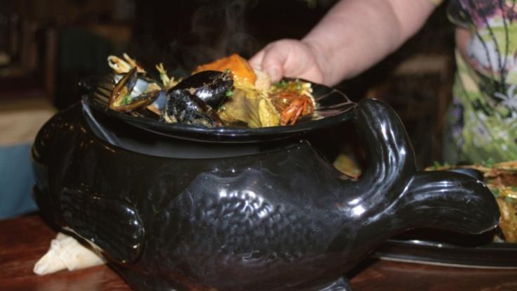 Berühmt und berüchtigt: Französische Muschelsuppe. (Foto)