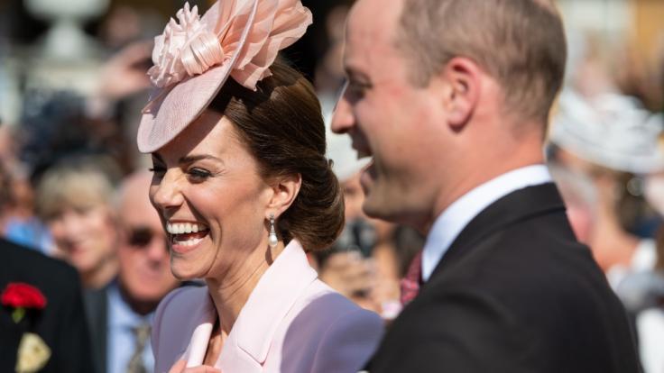 Immer wieder im Mittelpunkt: William und Kate. (Foto)
