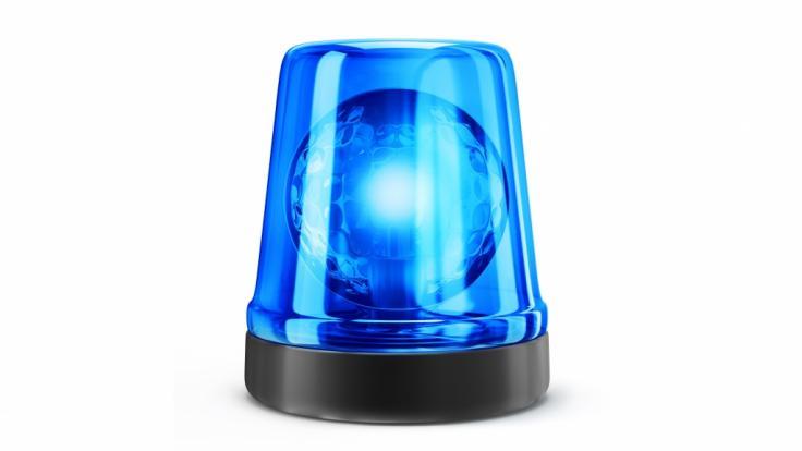 Die Polizei Brandenburg stoppt nackten Rollerfahrer. (Foto)
