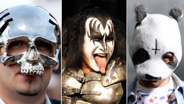 Sido hat seine Maske abgelegt, KISS und Cro rocken noch immer in Kostümierung die Bühne.