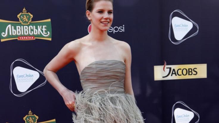 Sängerin Levina tritt beim Eurovision Song Contest 2017 in Kiew in der Ukraine für Deutschland an.