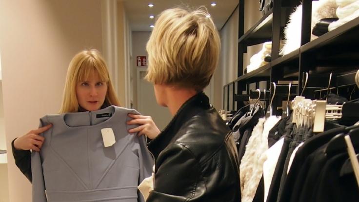"""""""Shopping Queen""""-Kandidatin Christiane ist blind geboren. (Foto)"""
