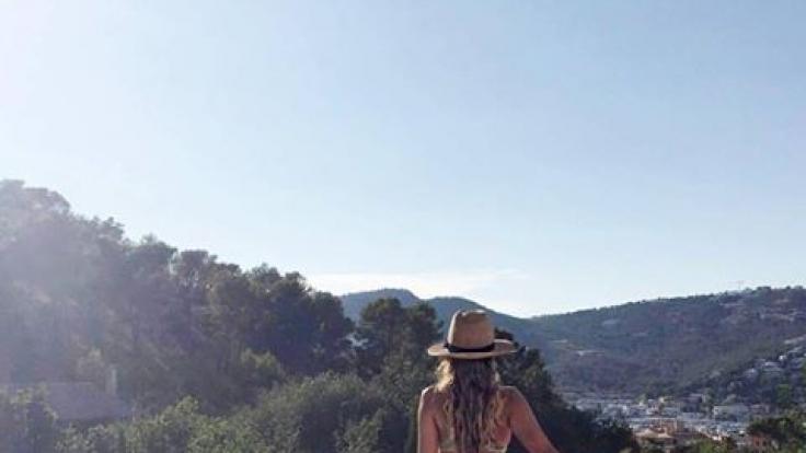Sylvie Meis geht baden. (Foto)