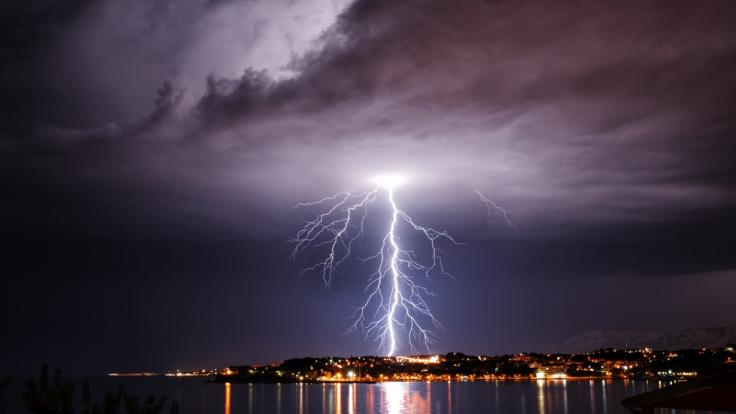 In Italien drohen schwere Gewitter. (Foto)