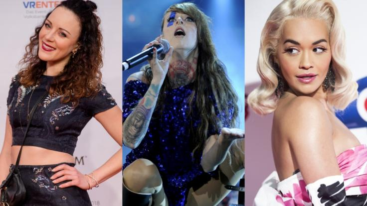 """Jasmin Wagner alias Blümchen, """"Jennifer Rostock""""-Frontfrau Jennifer Weist und Musikerin Rita Ora sind nur drei der Stars, die in den vergangenen Tagen für akuten Nackt-Alarm sorgten. (Foto)"""