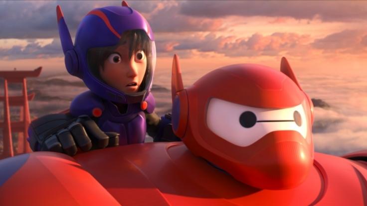 Screenwriter erfanden die Geschichte rund um die beiden Titelhelden Hiro und seinen Roboter Baymax. (Foto)