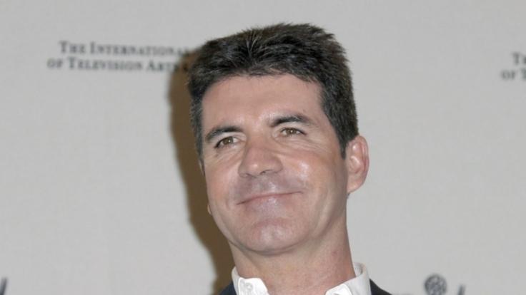 Leistete sich Simon Cowell einen Penis-Blitzer im TV? (Foto)