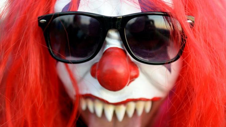 Ein Horror-Clown wollte in Berlin ein Kind in sein Auto locken. (Symbolbild)