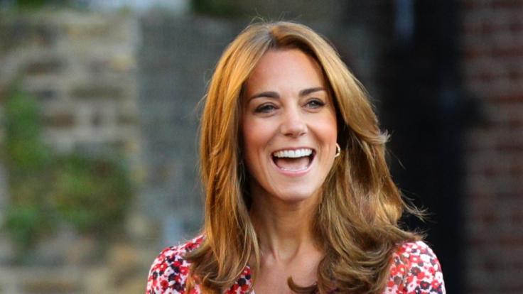 Kate Middleton ist glückliche Dreifach-Mama.