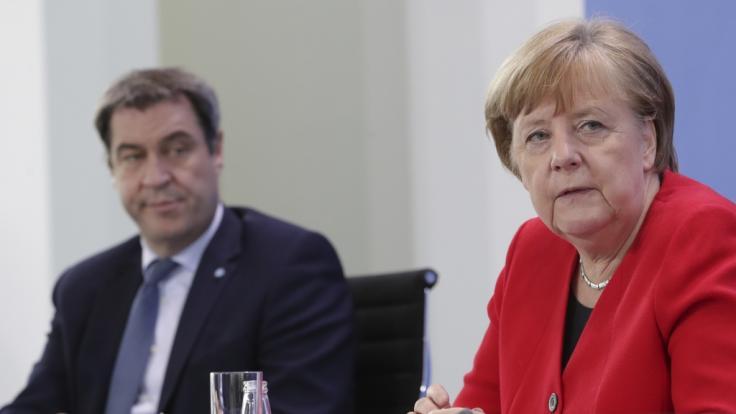 Die Bundeskanzlerin und die Ministerpräsidenten der Bundesländer einigten sich auf Corona-Lockerungen. (Foto)
