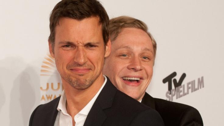 Seit Jahren gute Freunde: Matthias Schweighöfer (r.) und Florian David Fitz (l.). (Foto)