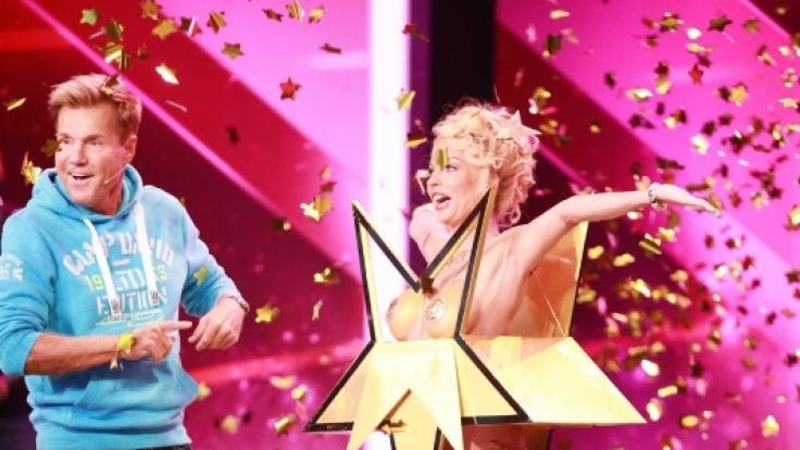 Biggi Bardot holte Dieter Bohlen auf die Bühne. (Foto)