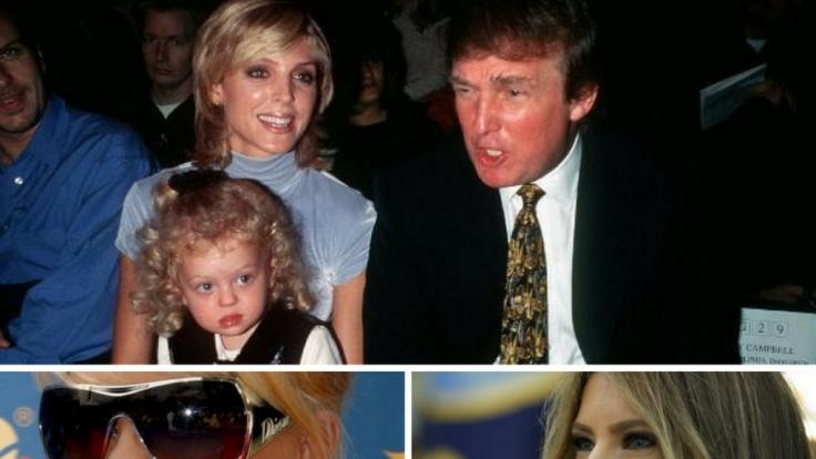 Donald Trump und seine Frauen - eine Geschichte mit vielen Facetten.