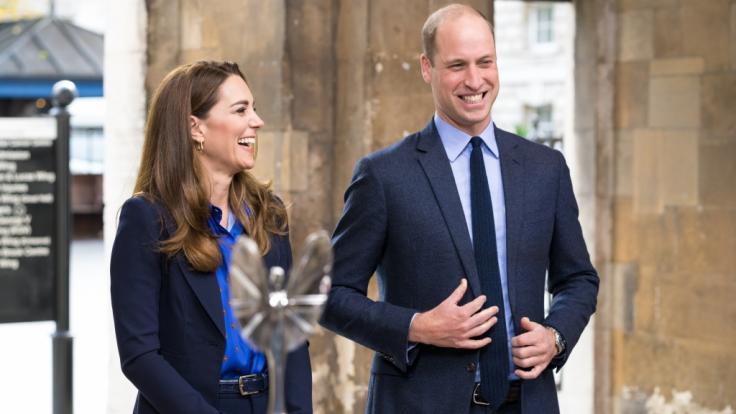Herzogin Kate und Prinz William haben allen Grund zum Strahlen: Ein neues Familienmitglied ist da!