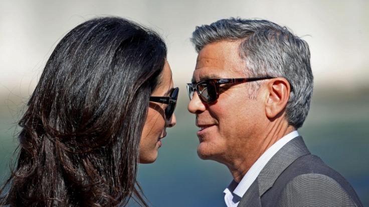 US-Medien berichten von Ärger im Hause Clooney.