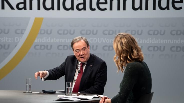 Im Rennen um den CDU-Bundesvorsitz verspürt Nordrhein-Westfalens Ministerpräsident Armin Laschet (CDU) wachsende Zustimmung für sich.
