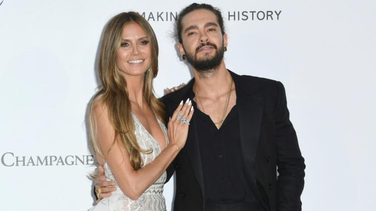 Glücklich vereint: Heidi Klum und Tom Kaulitz.