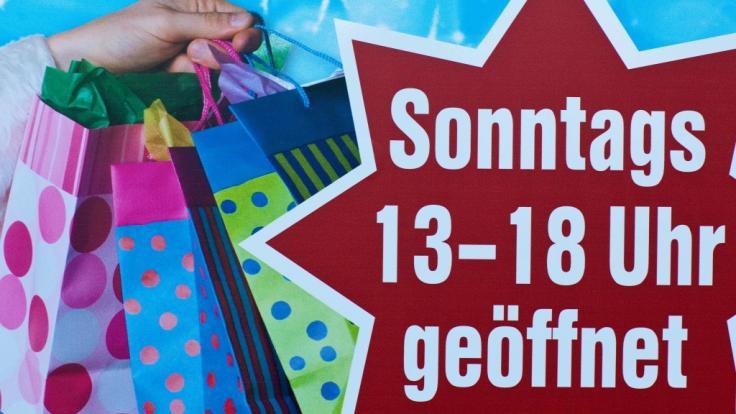 Im deutschen Einzelhandel wird die Forderung nach mehr Flexibilität beim verkaufsoffenen Sonntag laut (Symbolfoto).