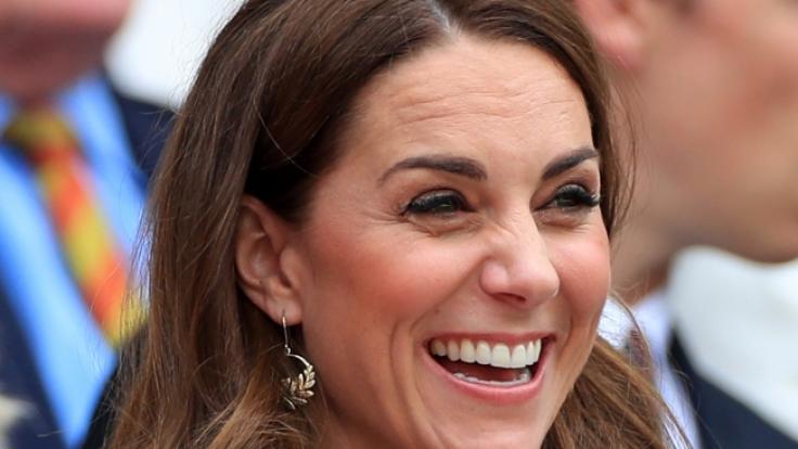 Kate Middletons hat gut lachen: Sie und ihr Look werden gern kopiert. (Foto)