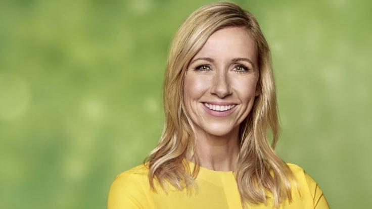 Andrea Kiewel zelebriert im ZDF-Fernsehgarten das italienische Lebensgefühl.
