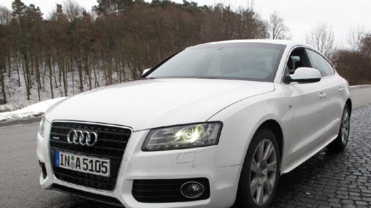Audi A5 Sportback 3.0 TDI (Foto)