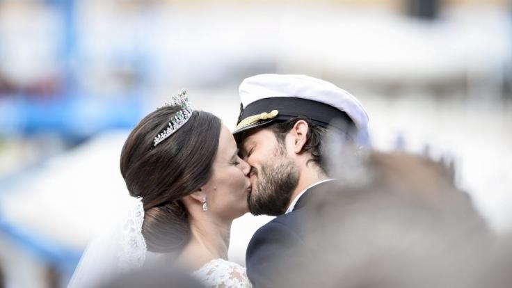 Traumhochzeit des Jahres: Prinz Carl Philip von Schweden gab seiner Sofia das Ja-Wort.