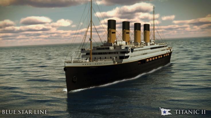 So soll die Titanic II aussehen - der australische Bergbau-Milliardär Clive Palmer will das legendäre Schiff 2022 zu neuem Leben erwecken. (Foto)