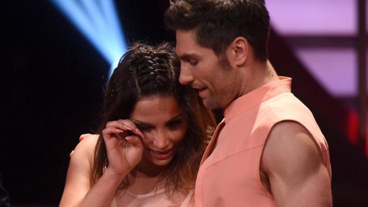 Enissa Amani und ihr Tanzpartner Christian Polanc bei