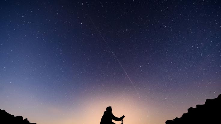Elon Musk will 12.000 Satelliten in die Atmosphäre schießen. (Foto)