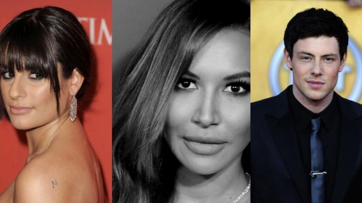 """Naya Rivera, Cory Monteith, und Lea Michele: Ihre Schicksale berührten """"Glee""""-Fans. (Foto)"""
