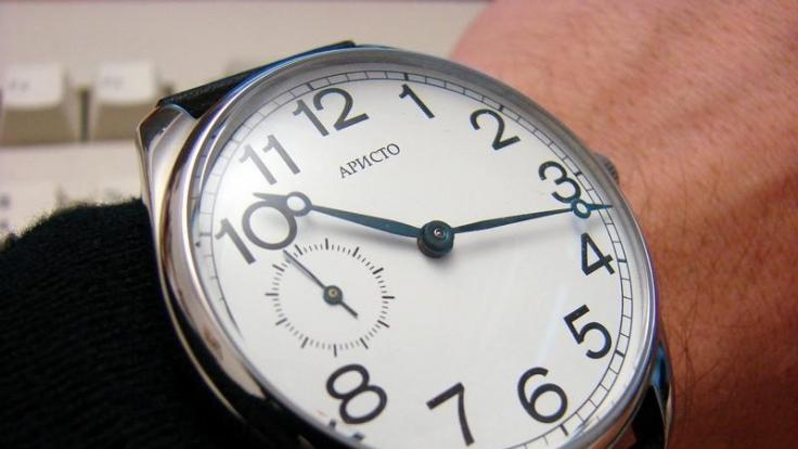 Im Gegensatz zu dieser äußeren Uhr handelt es sich bei der inneren Uhr um einen Nervenknoten. (Foto)