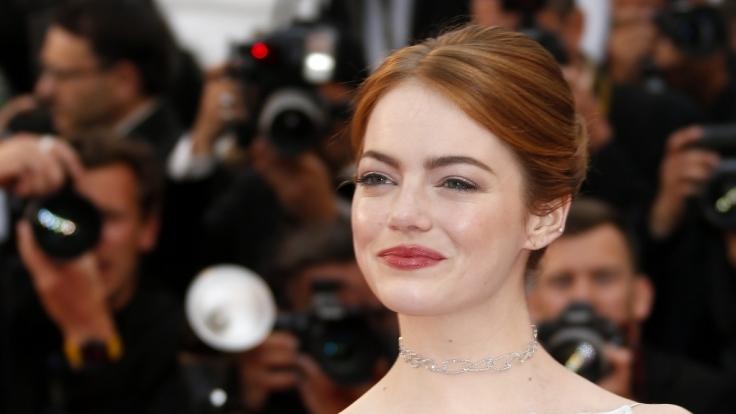 Emma Stone bei den Filmfestspielen in Cannes.