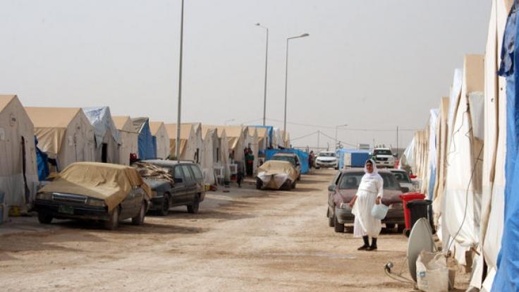 Flüchtlingsunterkünfte im Nordirak.