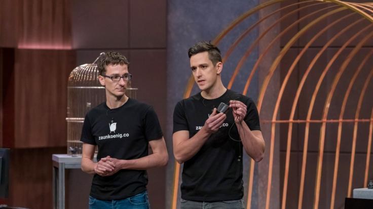 """Die Gründer von """"Zaunkönig M1K"""" Patrick und Dominik Schmalzried kämpfen in """"Die Höhle der Löwen"""" um ein Investment von 100.000 Euro für 15 Prozent. (Foto)"""