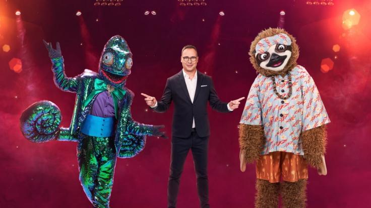 """""""The Masked Singer"""" geht in die 2. Staffel. Neu dabei:das Chamäleon und das Faultier. (Foto)"""