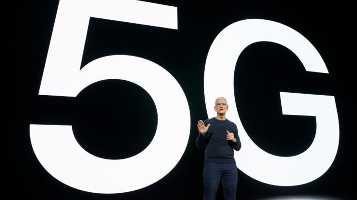 Apple-CEO Tim Cook hat mit dem iPhone 12 eine neue Smartphone-Generation angekündigt. (Foto)