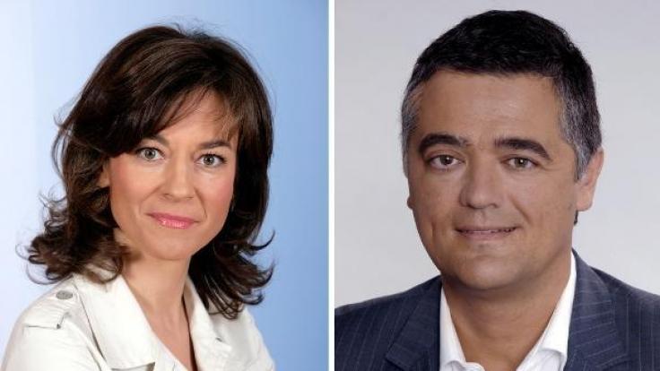Maybrit Illner musste das erste Mal den Polit-Talk absagen - an ihre Stelle trat Matthias Fornoff.