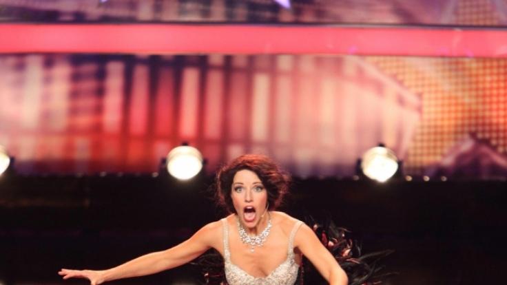 Vulgäre Spielchen auf der Bühne: Komikerin Amy Gordon. (Foto)