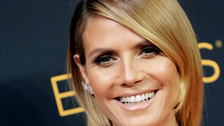 Wurde ersetzt: Topmodel Heidi Klum.