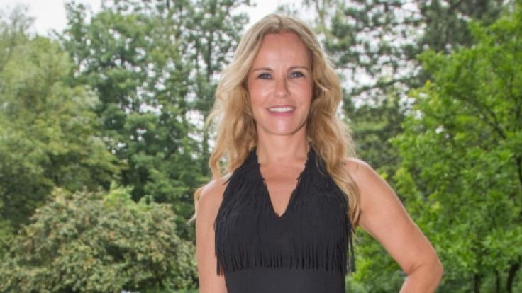 Katja Burkard ist Mutter von zwei Töchtern.
