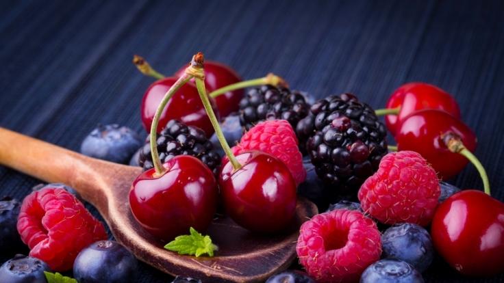 Beeren helfen uns beim Denken. (Foto)
