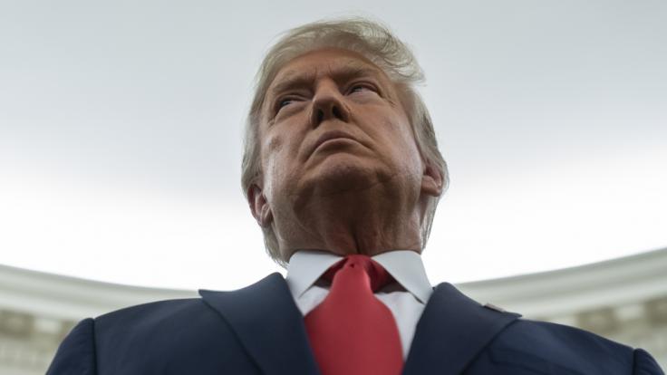Donald Trump sammelt knapp 200 Millionen Dollar Spenden ein. (Foto)
