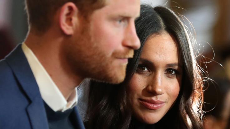Prinz Harry und Meghan Markle müssen sich nach provokanten Äußerungen in einer Videokonferenz heftige Kritik gefallen lassen. (Foto)