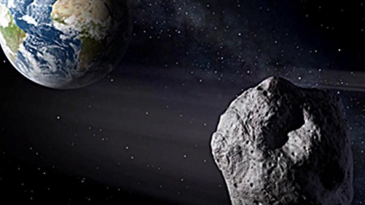 """Asteroid """"Florence"""" fliegt in wenigen Minuten ganz nah an der Erde vorbei. (Foto)"""