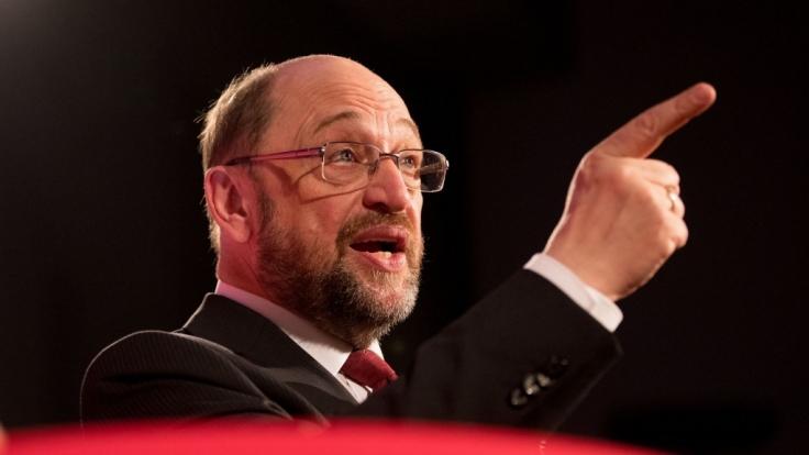 Martin Schulz wurde als Antisemit beschimpft.