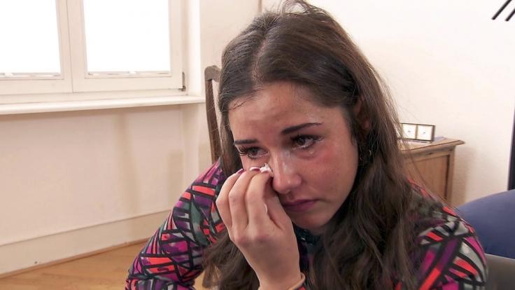 Als alleinerziehende Mutter des zweijährigen Alessio geht Sarah Lombardi an ihre Grenzen. (Foto)