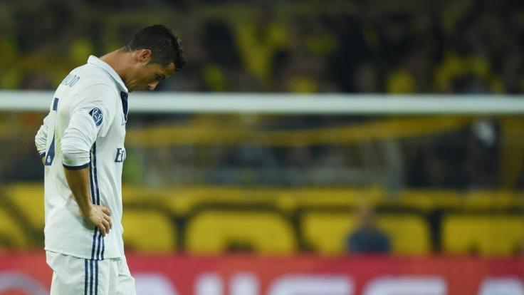 Keine gute Nachrichten für Ronaldo. Sein Privatjet legte eine Bruchlandung hin. (Foto)